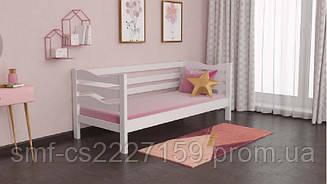 Дитяче ліжко Хвиля з натурального дерева