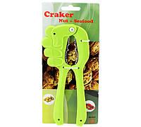 Орехокол рука зеленый ( щипцы для орехов )