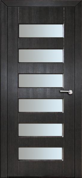 Міжкімнатні двері зі склом Неман ГАММА Н-52 венге південний