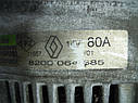 Генератор Renault Megane I 1995-2003г.в. 1.9 DCI 14V 80A Valeo ДЕФЕКТ, фото 5