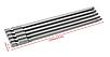 Набор  бит 5 шт., 150 мм. шестилучевая звездочка с отверстием, Сталь 1/4 дюйма шестигранным хвостовиком , фото 4