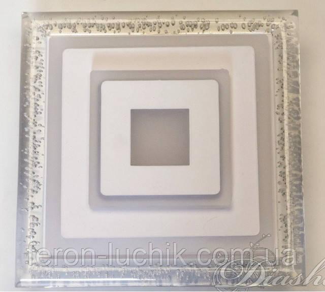 Світильник led квадрат 6005 220V універсальний спосіб монтажу: накладний і вбудовуваний.