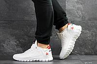 Мужские белые кожаные кроссовки Reebok Sublite, натуральная кожа
