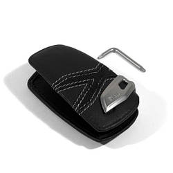 Оригинальный кожаный чехол для ключа BMW xLine (82292355521)