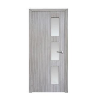 Міжкімнатні двері Неман зі склом ЛІНЕЯ Н-61 дуб англійський