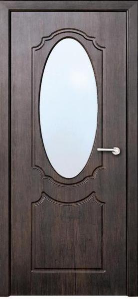 Міжкімнатні двері Неман  зі склом ДЗЕРКАЛО Н-63 венге
