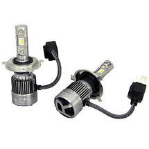 Ксеноновые лампочки для фар, LED лампы Xenon RS H4 Ксенон, автосвет, светотехника для автомобиля, фото 3