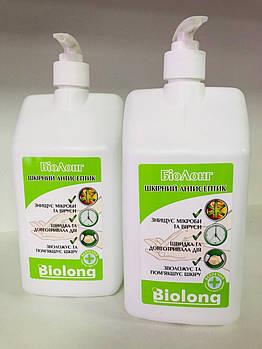 Биолонг антисептик для кожи рук, с дозатором, 1л (только самовывоз)