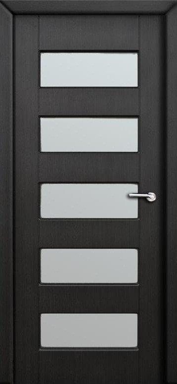 Міжкімнатні двері Неман зі склом МАРОККО Н-67 венге