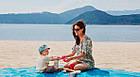 Пляжный коврик Антипесок Sand Free Mat - Розовый - Лучшая Подстилка на пляж Качество + Подарок!, фото 5
