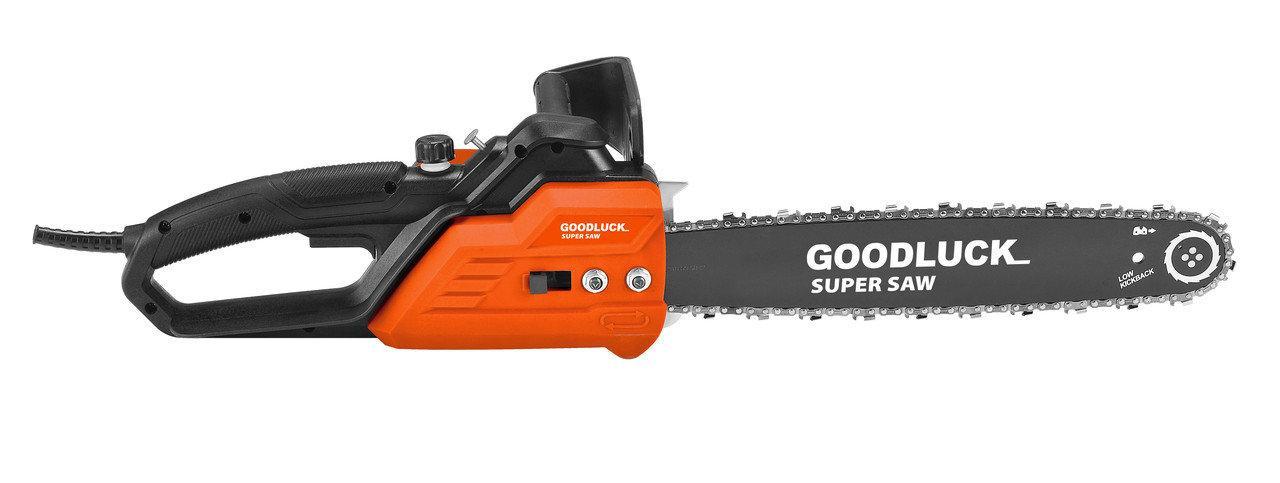 Электропила Super GoodLuck ECS 2000/405 1 Шинь + 1 Цепь. Пила цепная GoodLuck