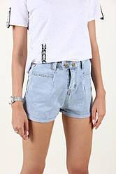 Джинсовые женские молодёжнык шорты