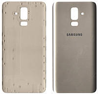 Крышка задняя Samsung J810 Galaxy J8 (2018) Золотая
