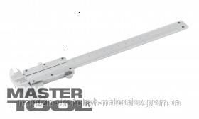 MasterTool  Штангенциркуль механический 200 мм шаг 0,02 в ПВХ чехле, Арт.: 30-0620
