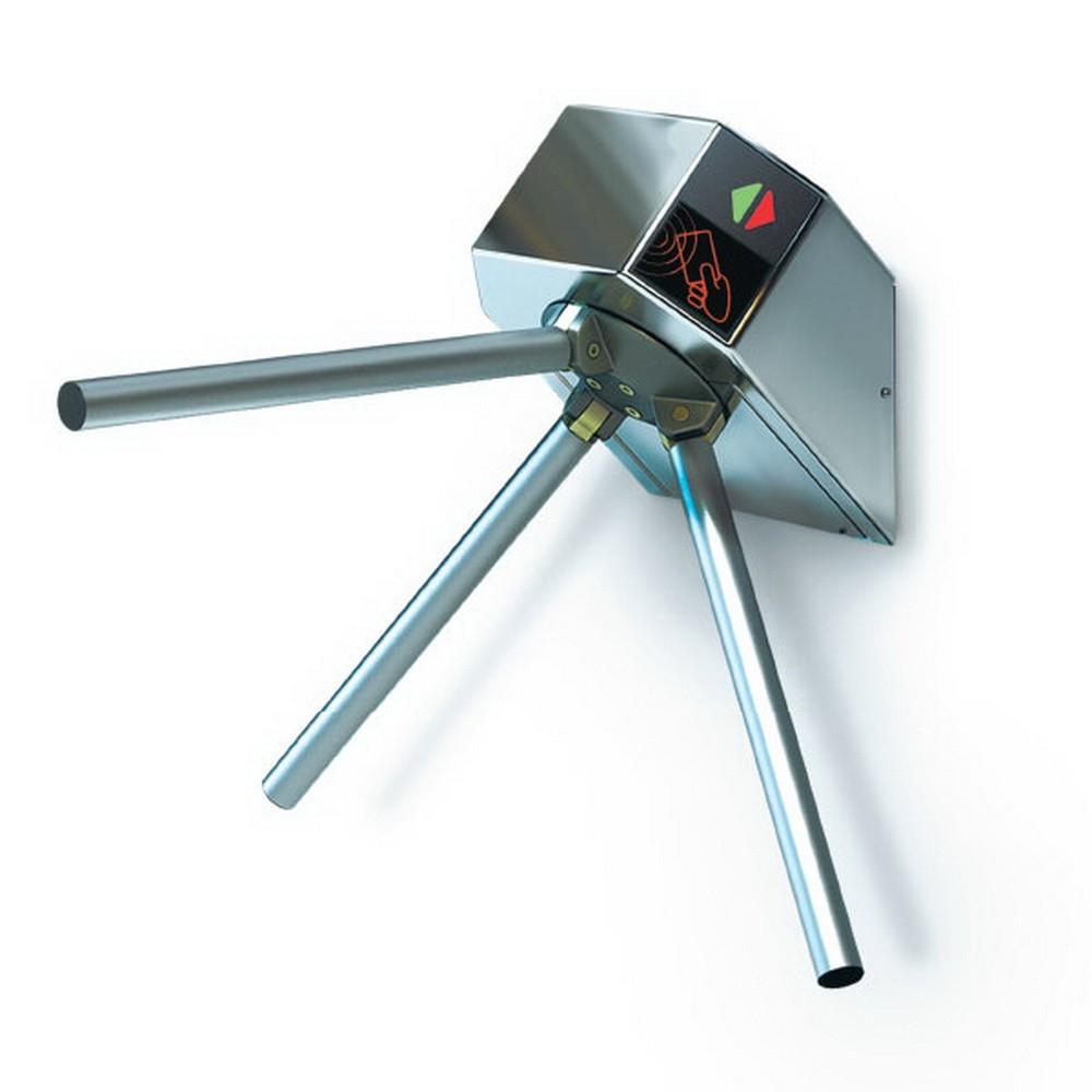 Турникет трипод Lot Eco, полированная сталь, электромеханический, штанга сталь