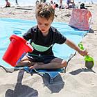 Пляжный коврик Антипесок Sand Free Mat - Голубой - Лучшая Подстилка на пляж Качество + Подарок!, фото 8
