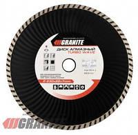 GRANITE  Диск алмазный TURBO WAVE 230 мм  GRANITE, Арт.: 9-04-230
