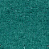 Декоративная однотонная рогожка бирюзового цвета 300см 84462v19, фото 2