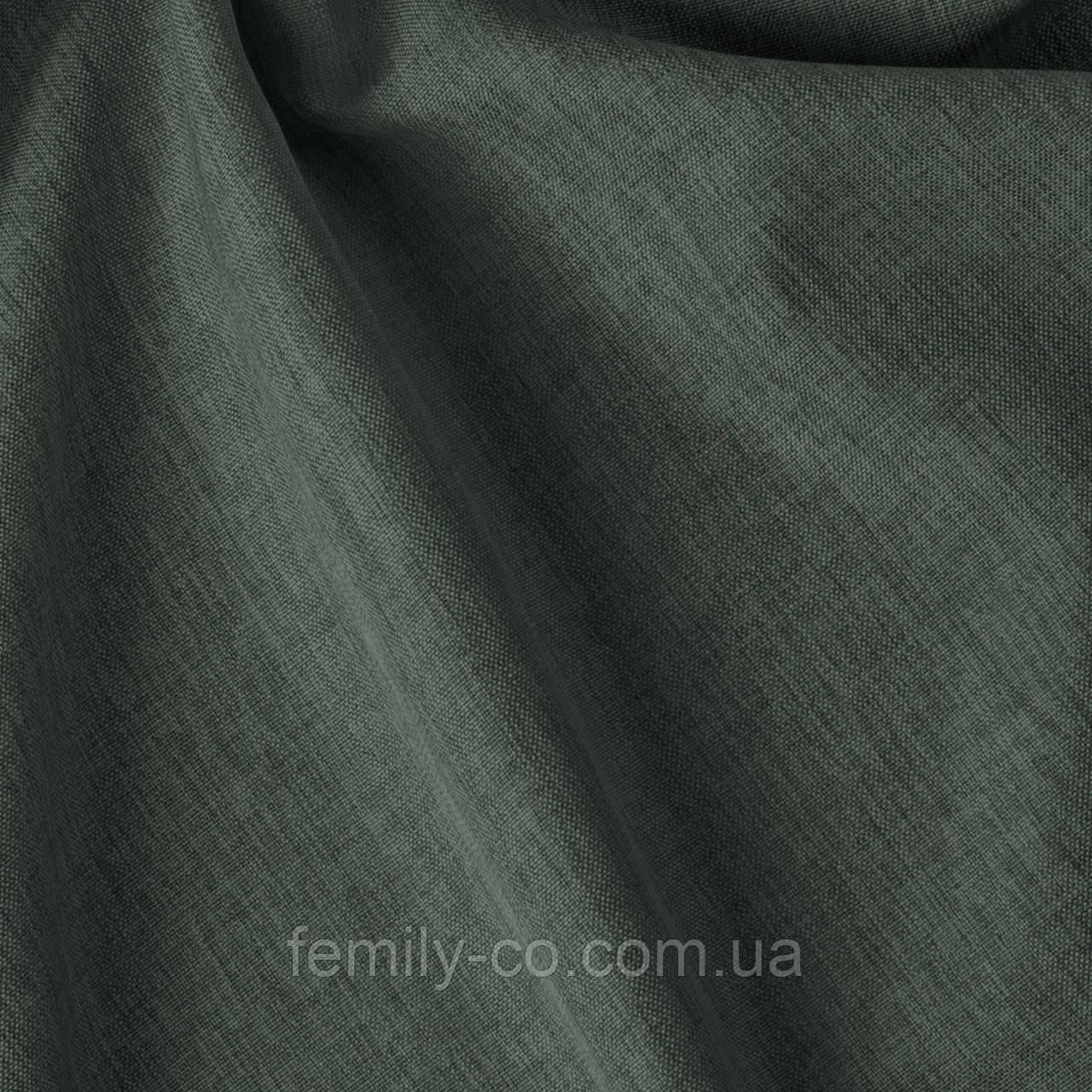 Декоративная однотонная ткань серого цвета Турция 84478v33