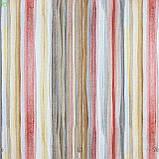 Декоративная ткань в разноцветную полоску для покрывала в детскую 84307v1, фото 3