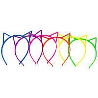 Обруч Кошка цветной (пластик) 250216-307