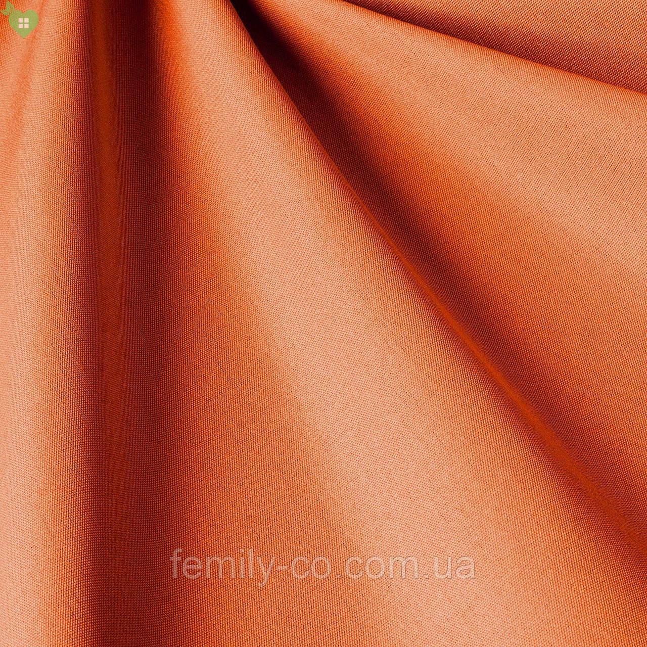 Однотонная уличная ткань оранжево-красного цвета акрил Испания 83377v5