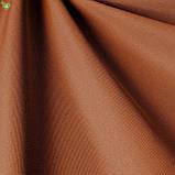 Однотонная уличная ткань терракотового цвета 100% акрил Испания 83375v3, фото 3
