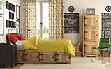 Однотонная декоративная ткань золотисто-желтого цвета Турция 81009, фото 2
