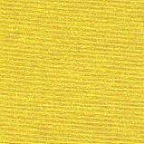 Однотонная декоративная ткань золотисто-желтого цвета Турция 81009, фото 3