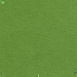 Однотонная декоративная ткань травяного цвета Турция 81128, фото 2