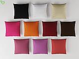 Однотонная декоративная ткань запыленного розового цвета Турция 81133, фото 4