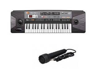 Орган-синтезатор MQ-805 USB с микрофоном, USB-порт