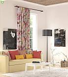 Декоративная ткань с букетами крупных разноцветных цветов Турция 82591v13, фото 2