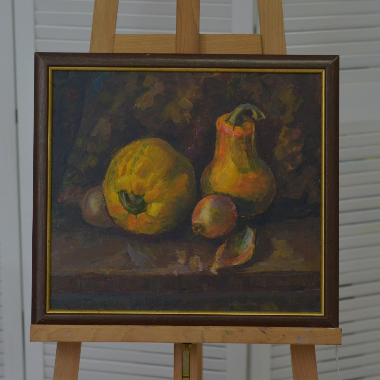 Картина натюрморт, картина маслом на кухню, в кафе, ресторан