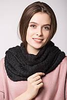 Мягкий трикотажный шарф-хомут LANE с люрексом