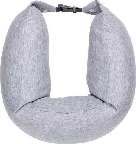 Подушка рукав Xiaomi 8H Travel U-Shaped Pillow 640х165мм Серая (U1 / GREY)