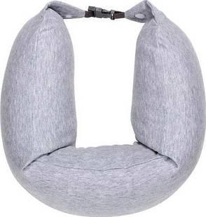 Подушка рукав Xiaomi 8H Travel U-Shaped Pillow 640х165мм Серая (U1 / GREY), фото 2