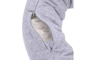 Подушка рукав Xiaomi 8H Travel U-Shaped Pillow 640х165мм Серая (U1 / GREY), фото 3