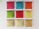 Однотонная декоративная ткань люминесцентно-красного цвета Испания 82755v59, фото 2
