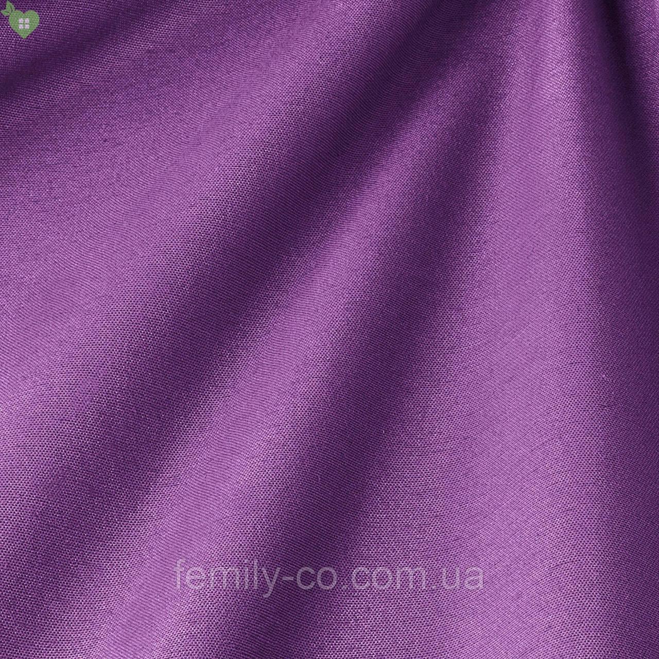 Однотонная декоративная ткань лилового цвета Испания 82708v51