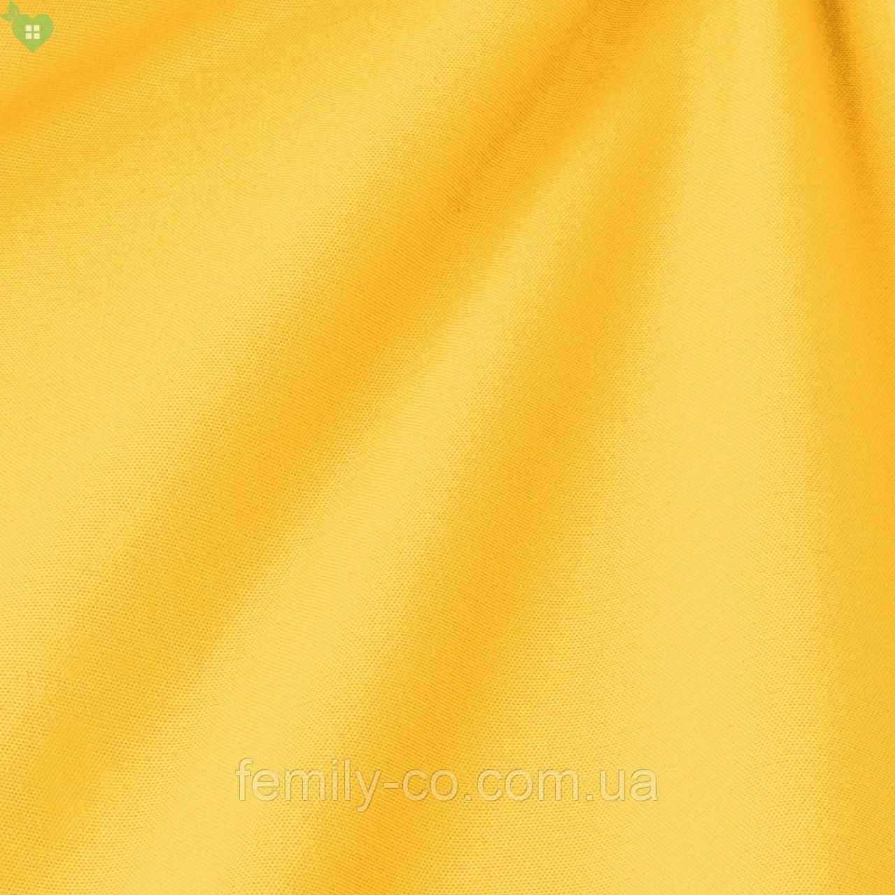 Однотонная декоративная ткань блестящего желтого цвета Испания 82432v5