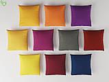 Однотонная декоративная ткань красно-коричневого цвета Испания 82705v48, фото 2