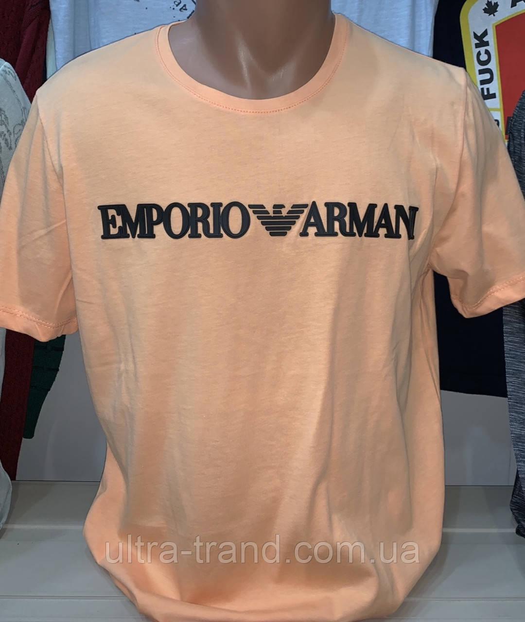 Мужская брендовая турецкая футболка Armani