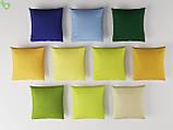 Однотонная декоративная ткань рапсово-желтого цвета Испания 82694v37, фото 2