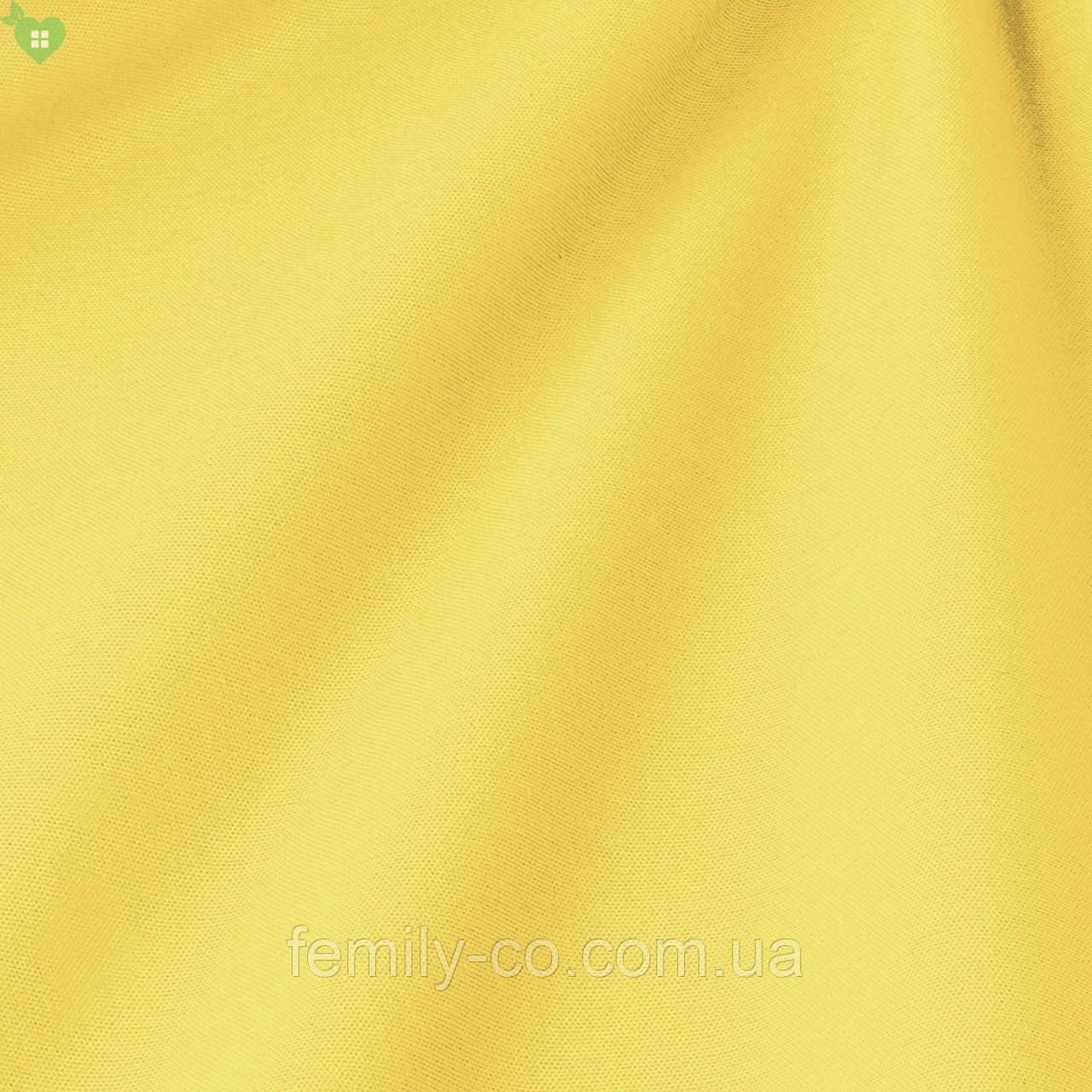 Однотонная декоративная ткань рапсово-желтого цвета Испания 82694v37