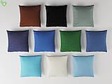 Однотонная декоративная ткань небесного цвета Испания 82438v30, фото 2