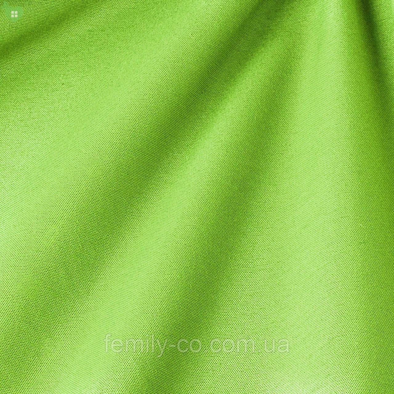 Однотонная декоративная ткань изумрудная Испания 82443v26
