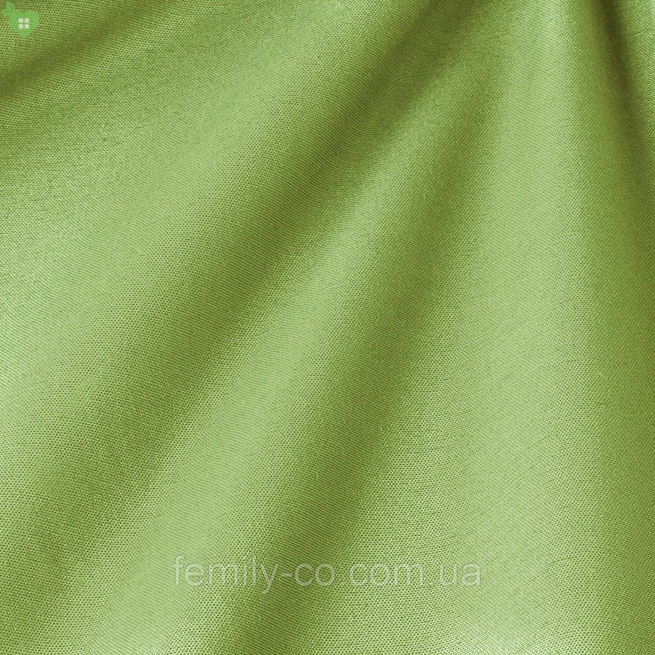Однотонная декоративная ткань лесного зеленого цвета Испания 82444v25