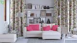 Однотонная декоративная ткань темного пурпурно-розового цвета 82449v20, фото 2