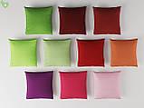 Однотонная декоративная ткань темного пурпурно-розового цвета 82449v20, фото 3